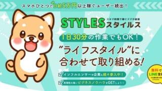 スタイルス(STYLES) 副業