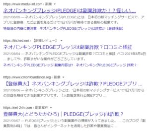 PLEDGE(プレッジ) 口コミ評判